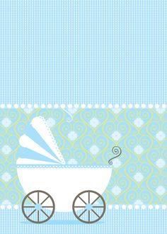 Convites para Ch� de Beb� edit�veis gr�tis para baixar, editar e imprimir