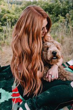 41 Best Hair Color Ideas for Wavy Hair – Frisuren Neue Frisuren und Haarfarben Red Hair With Blonde Highlights, Red Blonde Hair, Long Red Hair, Brunette Hair, Ash Blonde, Copper Blonde Hair, Black Hair, Green Hair, Golden Copper Hair