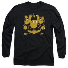 Adventure Time - Jakes Long Sleeve Adult 18/1