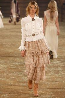 Chanel   Коллекции   Осень-зима 2014/2015   Нью-Йорк   VOGUE