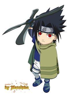 Chibi Naruto Movie 1 by on DeviantArt Anime Chibi, Sasuke Chibi, Manga Anime, Kawaii Anime, Naruto Shippuden Sasuke, Naruto Sasuke Sakura, Anime Naruto, Chibi Characters, Naruto Characters