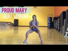 Tina Turner - Proud Mary (Squat Workout)   Dance Fitness with Jessica - YouTube