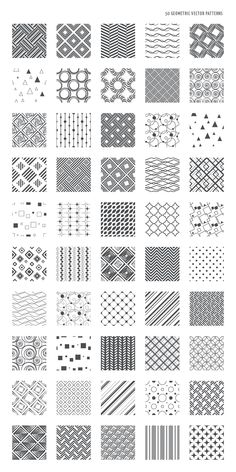 54 Zentangle pattern ideas for beginners, plus inspiration for taking your Zentangles to the next level. 54 Zentangle pattern ideas for beginners, plus inspiration for taking your Zentangles to the next level. Geometric Patterns, Line Patterns, Geometric Designs, Geometric Art, How To Draw Patterns, Easy Zentangle Patterns, Zen Doodle Patterns, Simple Geometric Pattern, Doodle Designs