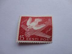 1840-1940 15 EESTI Postage Stamp