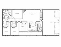 Metal Ranch House Floorplans Earlwood Met Kit Homes