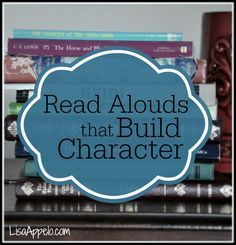 The top 2 reasons reading aloud will impact your kids and family and my TIP TOP recommendations for books that build character.