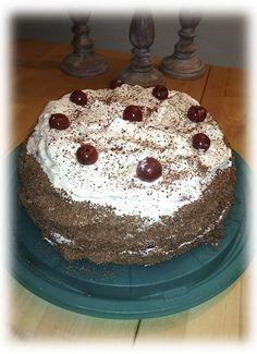 Schwarzwald torte, chutný a hlavne odskúšaný recept na višňovú Schwarzwald tortu.