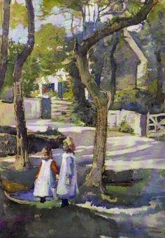 British Paintings: Elizabeth Adela Forbes - Fetching Water