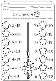 Kindergarten Math Games, Math Activities, Mental Maths Worksheets, Math Board Games, Math Sheets, Question Paper, Pre Writing, 1st Grade Math, Math For Kids