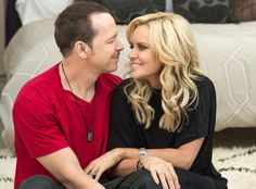 Donnie Wahlberg and Jenny McCarthy. | COURTESY A&E