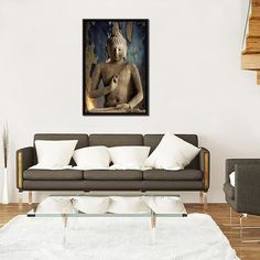 Buddha-Oriented-Living-Room-Decoration-Ideas