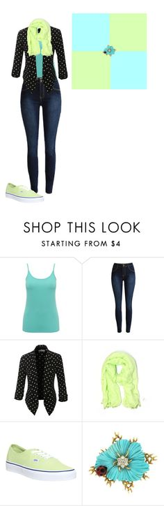 """""""Bights"""" by berryco ❤ liked on Polyvore featuring M&Co, LE3NO, J.Crew, Vans and Valentin Magro"""