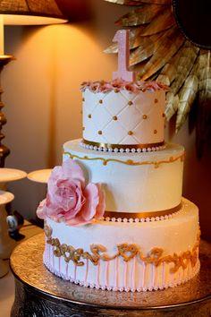 Marie Antoinette Themed Cake