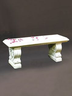 Straight Bench 4u0027. Classic Bench With A Beautiful Finish That Will  Accentuate Your Garden