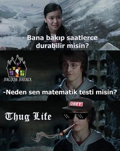 Hogwarts'dan Treniyle Gelmiş 26 Komik Harry Potter Caps'i 26 Funny Harry Potter Caps Arrived by Hogwarts on Train Harry Potter Cast, Harry Potter Memes, Harry Potter Hogwarts, Ron Weasly, Funny Quotes, Funny Memes, Denver, Thug Life, Train