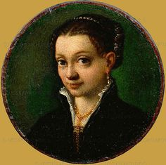 Sofonisba Anguissola:  Self Portrait - miniature [1559]
