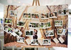 44 Creative Ways To Use Polaroid for Your Wedding | HappyWedd.com