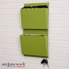 SeeJaneWork Wall Pockets coming to Office Depot January 1, 2013