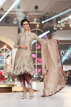 Sara Rohale Asghar Collection - Bridal Couture Week 2015