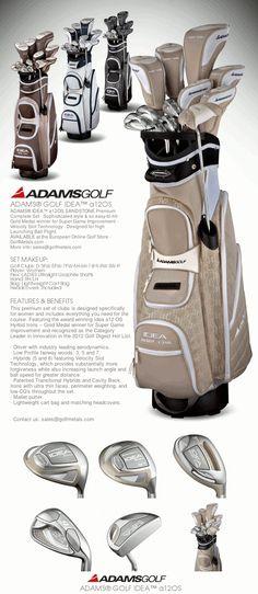2deb546d99d Adams® Idea™ a12OS Women s Golf Set Graphite · Color  Sandstone · Set  includes