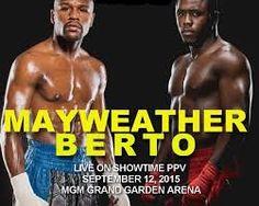 Mayweather vs Berto fight live stream | Mayweather vs Berto fight ...