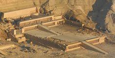 Pharaoh Hatshepsut Maatkare's temple in Deir el Bahri, Egypt