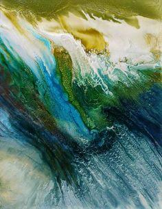 """Artist: Lia Melia; Paint 2015 Painting """"Falling"""""""