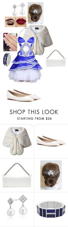 """""""white and blue"""" by crythin on Polyvore featuring Jimmy Choo, Vetements, Blue Nile and Chaps"""