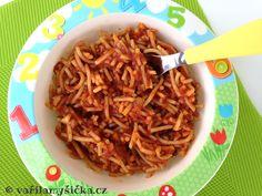boloňské špagety pro děti