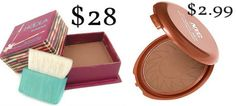 Benefit Hoola Bronzer DRUGSTORE DUPE! NYC Sunny Bronzer ONLY $3!!! Perfect for contouring