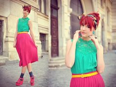 Sugar coated candygirl (by Anaivilo B) Fashion Accessories, Women Wear, Style Inspiration, Summer Dresses, My Style, Coat, Skirts, Sugar, Colour