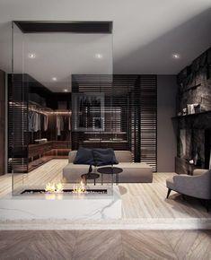 Luxury Interior, Modern Interior, Home Interior Design, Interior Architecture, Home Design, Minimalist Architecture, Architecture Portfolio, Design Interiors, Interior Lighting