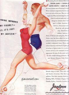 Jantzen Bathing suit ad