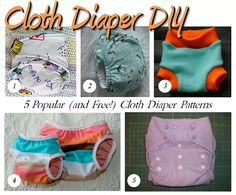 Welcome to our our May 2014 edition of Cloth Diaper Column! This month, we're talking about free cloth diaper patterns and more! Plus, we've got a giveaway, and other news, and new articles too! Cloth Diaper Pattern, Cloth Diaper Covers, Cloth Nappies, Cloth Pads, Baby Sewing Projects, Sewing For Kids, Sewing Clothes, Diy Clothes, Toddler Training Pants