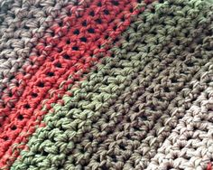 Free Pattern: Fast and Easy Crochet Throw (2 Stripe Options)
