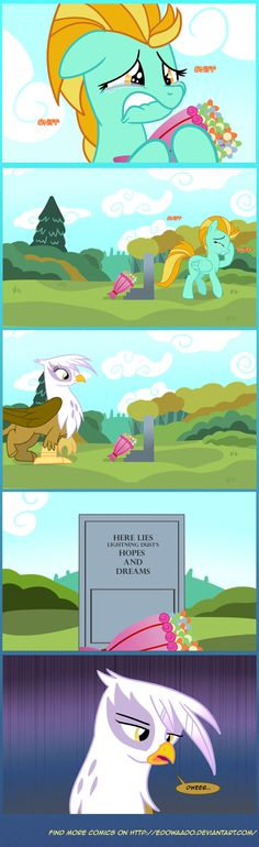 Dweeb by *Edowaado.  Okay, I thought this was going to be a super sad Rainbow Dash death post and it's not