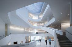 Visual Arts für Iowa City - Kunstfakultät von Steven Holl Architects