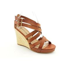 Chinese Laundry Down Town Womens Size 6 5 Brown Wedge Sandals Shoes Used UK 4 5 | eBay