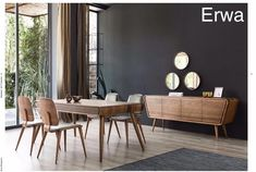 1 (4) Dining Room Design, New Furniture, Conference Room, Simple, Table, Home Decor, Herbs, Decoration Home, Room Decor