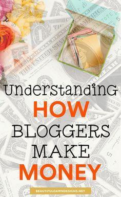 How to make money with your blog. #bloggingtips #blogging #makemoneyblogging