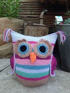Owl doorstops pattern...!