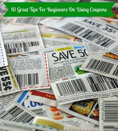 Guide to couponing for beginners- 10 helpful coupon hacks. #slickdeals #savemoney