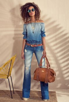 Cold shoulder blouse to makeoutdoor clothing brands, outdoor clothing stores, outdoor clothing near me, outdoor clothing store near me, outdoor clothing women`s. Mode Outfits, Fall Outfits, Summer Outfits, Casual Outfits, Denim Fashion, Look Fashion, Fashion Outfits, Womens Fashion, Outdoor Clothing Stores