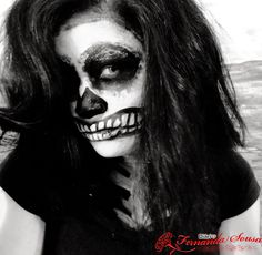 Diário de Fernanda Sousa: Inspiração Halloween- Caveira