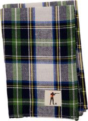 Ball and Buck Plaid Pocket Square - Roosevelt