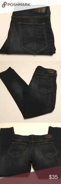 "Men's Express Jeans in Alec Skinny Fit Size 34, Length 32"", in good condition, Express Jeans in Alec Skinny Fit Express Jeans Skinny"