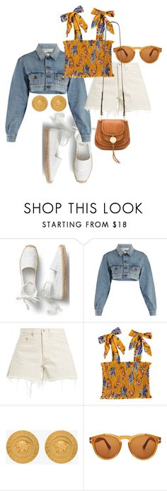 """""""Untitled #23707"""" by florencia95 ❤ liked on Polyvore featuring Off-White, Versace, Tom Ford and See by Chloé"""