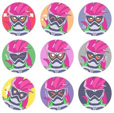 are this the faces and moods of ex aid?