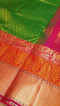 Our kanjivaram silk sari