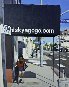 Los Angeles in paintings of John Tierney | 30 Art Works